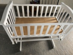 Ex Display Rocking crib