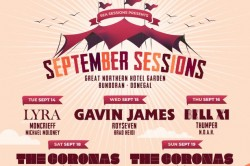 2 Tickets for the Coronas at September Sessions