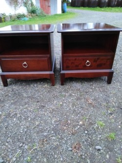 Bedside Cabinets (2)