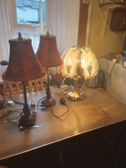 Matching Table Lamps (2)