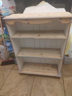 Pine Bookcase / Dresser.
