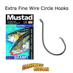 Mustad Circle Hooks (Extra Fine Wire)