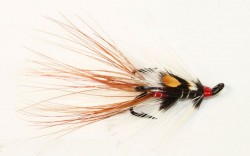 Curries Red Salmon Fly (Treble Hook)