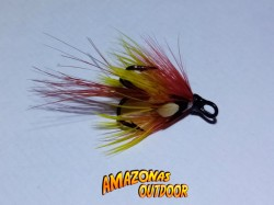 Apache Salmon Fly (Treble Hook)
