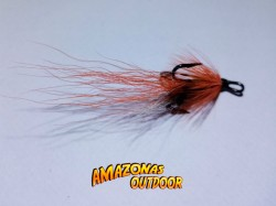 Orange Ally's Salmon Fly (Treble Hook)