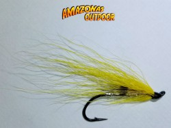 Yellow Ally's Fly (Single Hook)