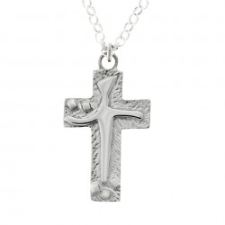 Silver Cross On Chain